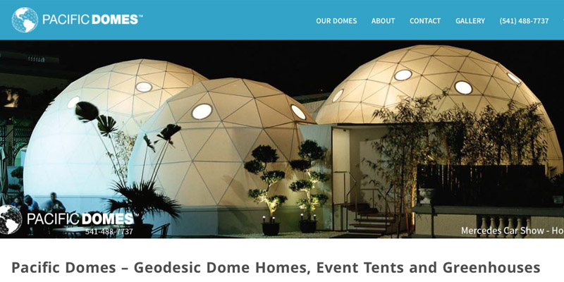 pacific domes